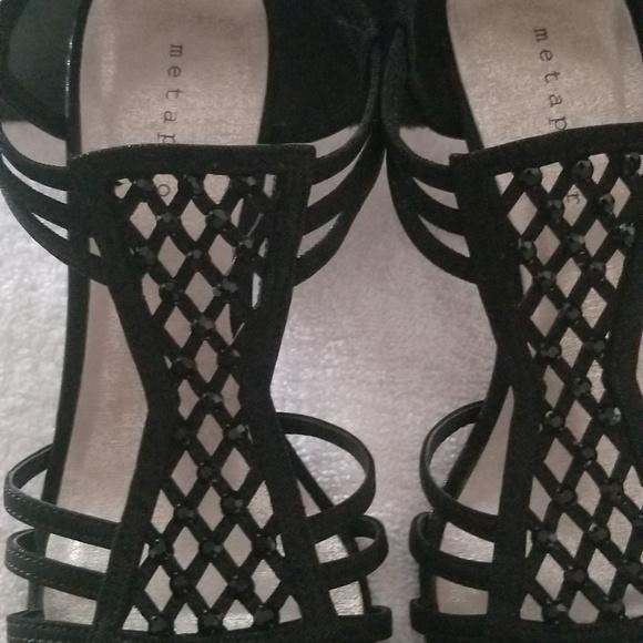 23b96fa67be New Women's Metaphor Black High Heel Scandals 9M NWT